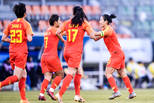 吴海燕头槌 东亚杯女足1-0中国台北获第三