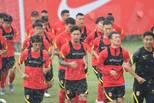 国足在上海集训 王燊超渴望参加40强赛