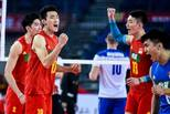中国男排战胜哈萨克斯坦 取得奥运资格赛开门红