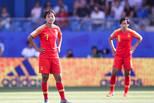 世界杯-中国女足0-2意大利 遗憾失球王霜无奈