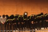 韩国U18球员脚踩熊猫杯奖杯 全队鞠躬道歉