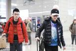 吴敏霞和老公回上海过年 低调秀恩爱