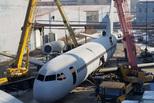 农民花百万造空客A320 今日安飞机涡轮