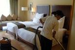 酒店保洁潜规则:人员靠外包 效果靠抽查