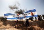 巴以边境再次爆发激烈军民冲突