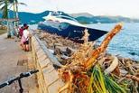 香港西贡130艘船只遭台风损毁 损失达3亿