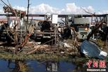 """飓风""""迈克尔""""致美国空军基地受重创"""