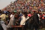 津巴布韦大批民众瞻仰穆加贝遗体