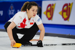 10年来首次 中国女子冰壶掀翻奥运冠军