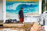 印尼度假海滩摧毁殆尽 本应迎游客顶峰
