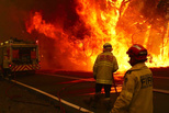 Why can't the Australian fire extinguish?