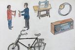 父亲的画:留守老人百张画描绘67年过往
