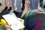 雷神山首例治愈患者出院 系83岁老人