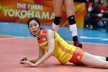 世锦赛中国女排2-3意大利 朱婷面露不甘