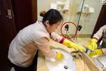 山东一酒店保洁配记录仪 清洁过程全记录