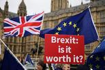 英脱欧协议再被否 德法首脑暗示不再磋商