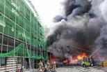韩国塑料工厂突发火灾 一名中国人身亡