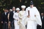 大婚临近 日本绚子公主参拜伊势神宫
