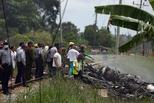 古巴客机起飞后不久坠毁百余人死亡