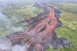 夏威夷火山喷发 一人重伤