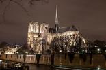 法国巴黎圣母院时隔7个月恢复照明