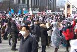 首尔举行大型集会 市长劝告遭围攻