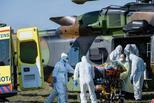 出动直升机 法国患者被送到德国治疗