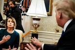 特朗普與佩洛西互嗆,原來是在做戲?