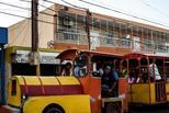 委内瑞拉民众挤游乐小火车出行