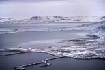 全球变暖致冰山融化 北极5座岛屿浮现