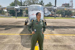 印度军队里程碑:海军迎来首位女飞行员
