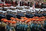俄罗斯举行纪念卫国战争胜利阅兵式