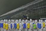 武汉天河机场全面消杀 为复航做准备
