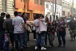 墨西哥发生地震震感强烈 民众户外避险