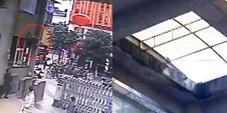 玻璃台被踩碎!男子从10米高空坠落身亡