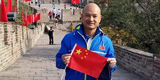 香港警队代表团登长城:比想象中更雄伟