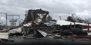 美国最强飓风登陆致1死 佛州惨象寰生