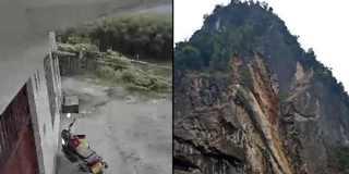 宜宾长宁发生4.8级地震 龙头镇山体垮塌