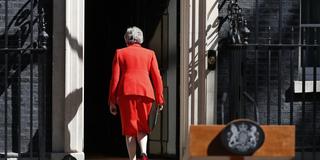 特雷莎·梅宣布6月辞去党首职务