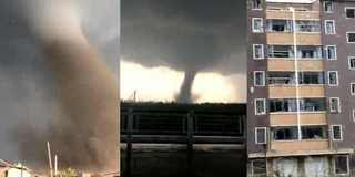 辽宁开原遭遇龙卷风袭击 已致6死190余伤