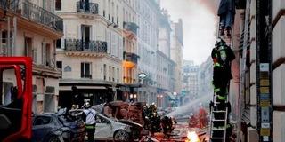 法国巴黎市中心发生大规模爆炸