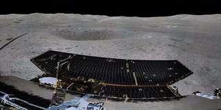来看!嫦娥四号顺利完成月背360度环拍