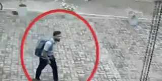 斯里兰卡教堂监控曝光 嫌犯淡定进教堂