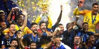 王者归来!法国时隔20年重夺世界杯冠军