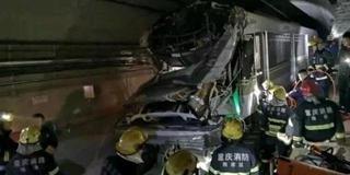 重庆轨道环线人防门与列车擦碰致1死3伤