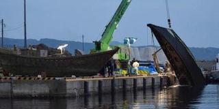 日本海岸再现大量幽灵船 已发现12具尸体