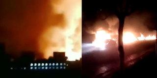 突发!张家口一化工厂爆炸已致22死22伤