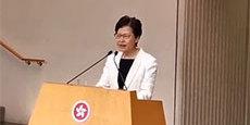 林郑月娥否认辞职:从未向中央提过