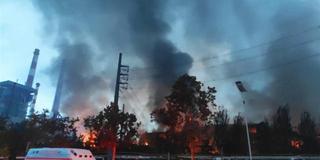 河南三门峡义马市气化厂爆炸致10死19伤