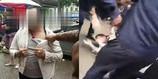 中年男子涉嫌猥亵小孩  遭民众当街暴打